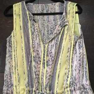 BCBG maxi long dress size s